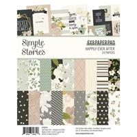 """Εικόνα του Simple Stories Double-Sided Paper Pad 6""""X8"""" – Happily Ever After"""