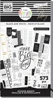 Εικόνα του Happy Planner Sticker Value Pack - Black & White