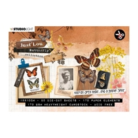 Εικόνα του Studio Light Butterfly Just Lou Die-Cut Μπλοκ A6 - Nr 4