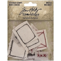 Εικόνα του Tim Holtz Idea-Ology Stitched Scraps - Basics