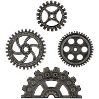 Εικόνα του Tim Holtz Idea-Ology Μεταλλικά Στοιχεία - Industrial Gears