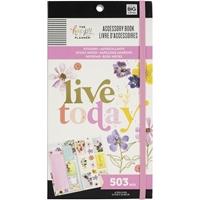 Εικόνα του Happy Planner Accessory Book - Pressed Florals