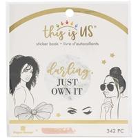 Εικόνα του Paper House This Is Us Mini Sticker Book - Glamorous Girls
