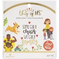 Εικόνα του Paper House This Is Us Mini Sticker Book - Family Life