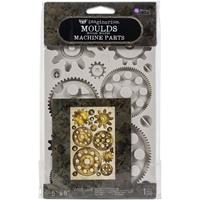 """Εικόνα του Καλούπι Σιλικόνης Finnabair Decor Moulds 5""""X8"""" - Machine Parts"""