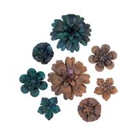 Εικόνα του Finnabair Mechanicals Μεταλλικά Διακοσμητικά - Desert Flowers
