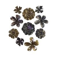 Εικόνα του Finnabair Mechanicals Μεταλλικά Διακοσμητικά - Metal Blooms