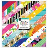 """Εικόνα του Vicki Boutin Color Study Μπλοκ Scrapbooking Διπλής Όψης 12""""X12"""""""