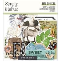 Εικόνα του Simple Stories Bits & Pieces Die-Cuts – Simple Vintage Farmhouse Garden