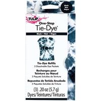Εικόνα του Tulip One-Step Tie Dye Βαφή για Υφασμα Refill Pack - Black