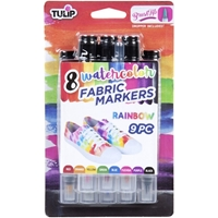Εικόνα του Μαρκαδόροι για Ύφασμα Tulip Watercolor Fabric Markers - Rainbow