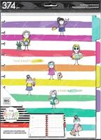 Εικόνα του Happy Planner 4-Month Undated Big Planner Extension Pack - Stick Girl Hooray