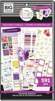 Εικόνα του Happy Planner Sticker Value Pack - Teacher, Floral