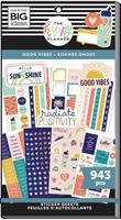 Εικόνα του Happy Planner Sticker Value Pack - Student, Good Vibes
