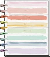 Εικόνα του Happy Planner 18-Month Dated Classic Planner - Painterly Pastels, Jul 21 - Dec 22