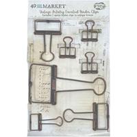 Εικόνα του 49 And Market Foundations Essential Binder Clips - Antique Bronze