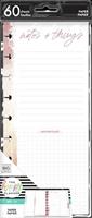 Εικόνα του Happy Planner Skinny Classic Half Sheet Fill Paper - Notes And Things