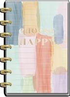 Εικόνα του Happy Planner 12-Month Dated Mini Planner - Painterly Pastels, July 2021-June 2022