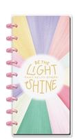 Εικόνα του Happy Planner Half Sheet Notebook - Be The Light That Helps Other Shine
