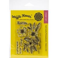"""Εικόνα του Waffle Flower Crafts Clear Stamps 4""""X6"""" - A Little Note"""