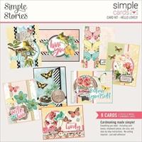 Εικόνα του Simple Stories Simple Cards Card Kit - Hello Lovely