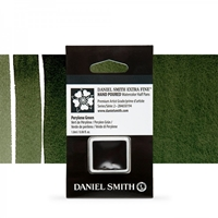 Εικόνα του Daniel Smith Extra Fine Χρώμα Ακουαρέλας Half Pan - Perylene Green