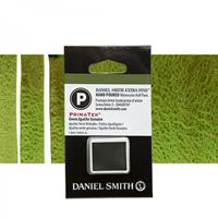 Εικόνα του Daniel Smith Extra Fine Χρώμα Ακουαρέλας Half Pan - Green Apatite Genuine