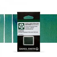 Εικόνα του Daniel Smith Extra Fine Χρώμα Ακουαρέλας Half Pan - Cascade Green