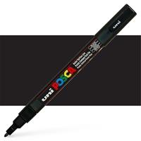 Εικόνα του Μαρκαδόρος POSCA 3M Fine Bullet Tip Pen – Black
