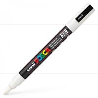 Εικόνα του Μαρκαδόρος POSCA 3M Fine Bullet Tip Pen - White