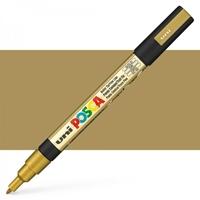 Εικόνα του Μαρκαδόρος POSCA 3M Fine Bullet Tip Pen – Gold
