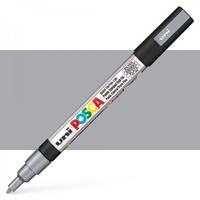 Εικόνα του Μαρκαδόρος POSCA 3M Fine Bullet Tip Pen – Silver