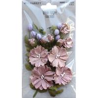 Εικόνα του 49 And Market  Royal Spray Χάρτινα Λουλούδια - Orchid