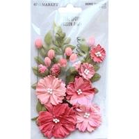Εικόνα του 49 & Market Royal Spray Χάρτινα Λουλούδια - Passion Pink