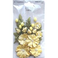 Εικόνα του 49 & Market Royal Spray Χάρτινα Λουλούδια - Sunshine