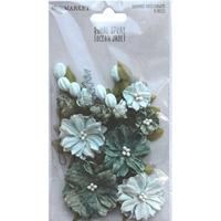 Εικόνα του 49 And Market  Royal Spray Χάρτινα Λουλούδια - Ocean Jade
