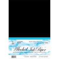 Εικόνα του Couture Creations Alcohol Ink Black Synthetic Paper - Συνθετικό Χαρτί για Μελάνια Οινοπνεύματος
