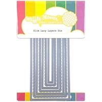Εικόνα του Waffle Flower Crafts Die - Slim Lacy Layers