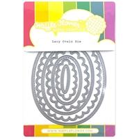 Εικόνα του Waffle Flower Crafts Die – Lacy Ovals