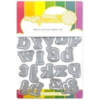 Εικόνα του Waffle Flower Crafts Die – Retro Outline Alpha