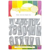 Εικόνα του Waffle Flower Crafts Die – Tower outline Alpha