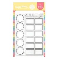"""Εικόνα του Waffle Flower Crafts Clear Stamps 4""""X6"""" – Color Swatches For Watercolors"""