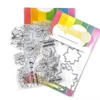 Εικόνα του Waffle Flower Crafts Stamps & Dies – Poinsettia