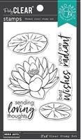 """Εικόνα του Hero Arts Hero Florals Σετ Σφραγίδες 3""""X4"""" - Lotus"""