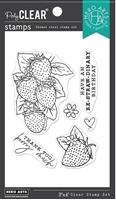 """Εικόνα του Hero Arts Hero Florals Σετ Σφραγίδες 3""""X4"""" – Strawberries"""