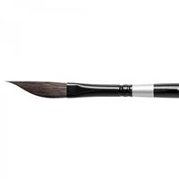 Εικόνα του Silver Black Velvet Πινέλο Ακουαρέλας 3012S Dagger Striper 1/4''