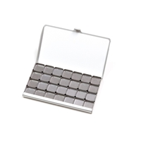 Εικόνα του Art Toolkit Μαγνητική Παλέτα Τσέπης 28 Mini Pans - Pocket Palette Silver