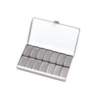 Εικόνα του Art Toolkit Μαγνητική Παλέτα Τσέπης 14 Standard Pans - Pocket Palette Silver
