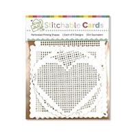 Εικόνα του Waffle Flower Crafts Stitchable Cards - Perforated Pinking Shapes