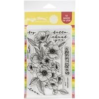 """Εικόνα του Waffle Flower Crafts Σετ Διάφανες Σφραγίδες 4""""X6"""" -  Poppy Hawthorn"""